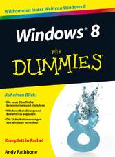 Windows 8 für Dummies - Andy Rathbone
