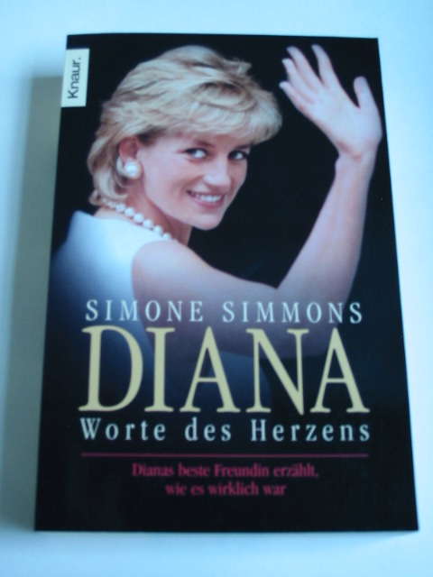 Simone Simmons: Diana - Worte des Herzens.