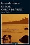 El mar color de vino