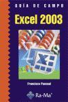 Excel 2003. Guía de formación
