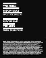 Discursive Variants / Variantes dicursivas (eng/spa): Musac Collection III / Colección Musac III