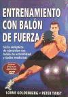 Entrenamiento con balon de fuerza. Serie completa de ejercicios con balón de estabilidad y balón medicinal