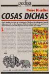 COSAS DICHAS