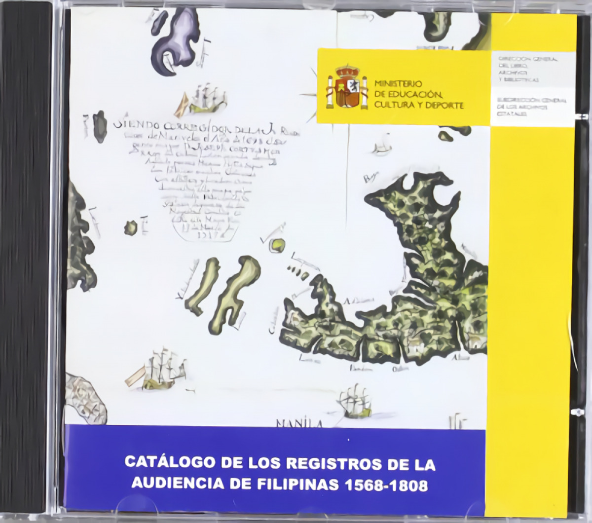 Catalogo reg.audiencia filipinas (cd-rom) - Ministerio De Cultura
